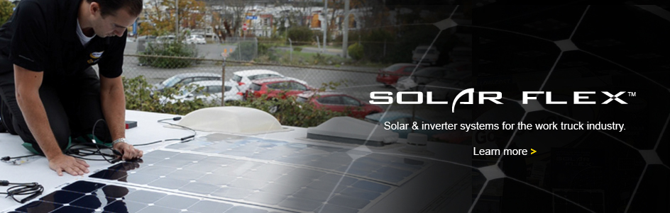 Solar Flex systems now available for the Work Truck Industry