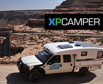 XP Camper featuring a Go Power solar module