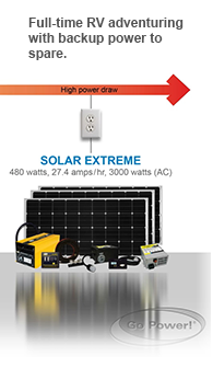 Size Your Go Power! Solar or Inverter System | Go Power!
