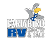 Earlybird RV Show and Sale Logo