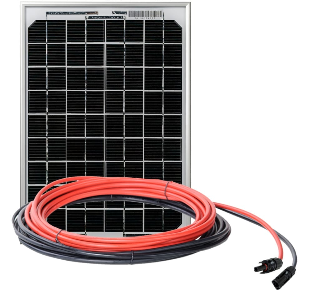 10 amp Eco Rigid solar panel kit