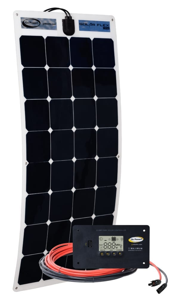 100 watt solar flex kit