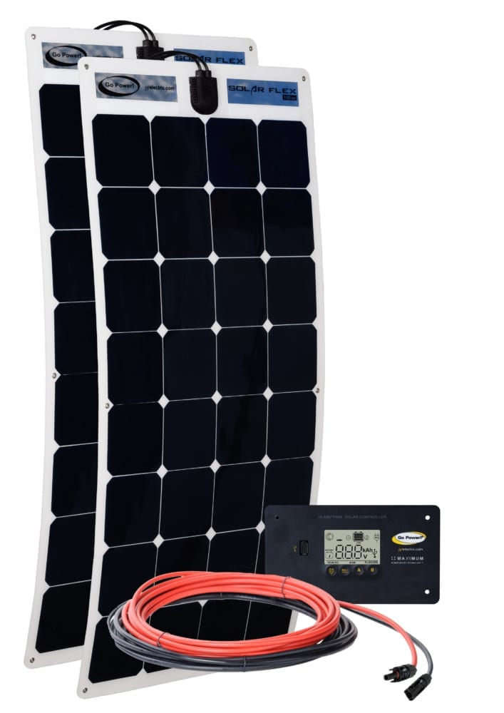 200 watt solar flex kit