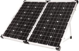 Portable Solar Kit 120 watt open