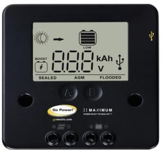 10-amp digital solar controller by Go Poswer!