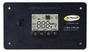 30-amp digital solar controller by Go Poswer!