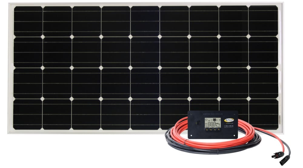 overlander rigid solar panel kit