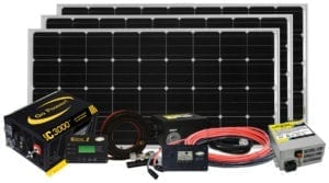 Solar Charging Systems Kits Panels And Accessories Go