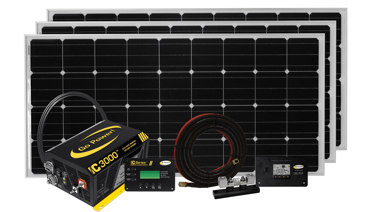 Wired For Solar Go Power Kit Wiring And Connections The Rver That Wants Comfort Of Home These Systems Provide Ac Your Electronics Appliances As Well Dc To Keep Lights On