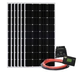 Go Power! All Electric Solar Kit - 6 panels