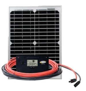 20 watt Solar Kit Trickle Charger