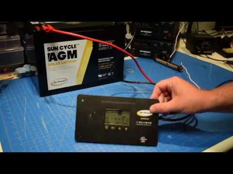 30 Amp Solar Charge Controller Pwm 30 Go Power Products