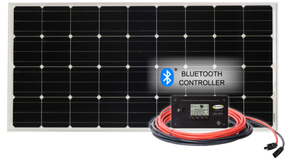 100 watt Retreat Solar Kit with Bluetooth Controller