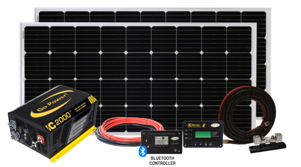 Go Power Solar Elite Kit with Bluetooth Controller