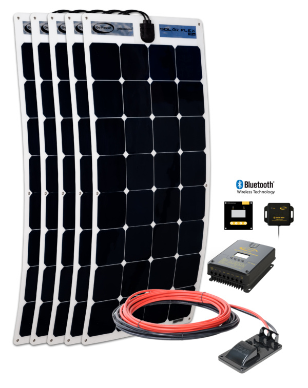 Flex 500 kit with 60 AMP MPPT Solar Controller
