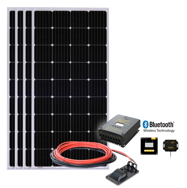 Solar All Electric 4 kit with 60 AMP MPPT Solar Controller