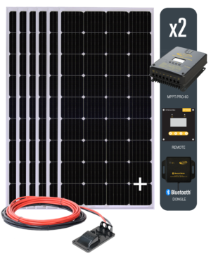 Solar All Electric Kit 6 with 60 AMP MPPT Solar Controller