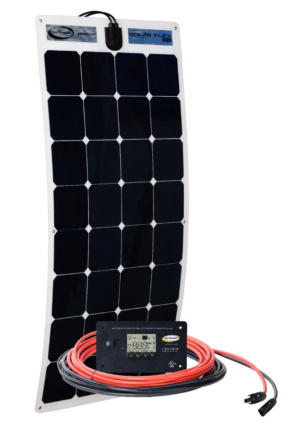 100 watt flexible solar kit