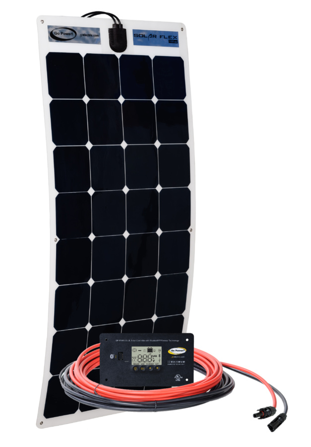 100 Watt Flexible Solar Kit Go Power