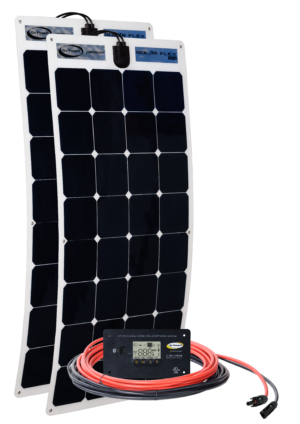 200-watt solar flex kit