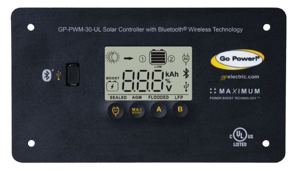 30 amp digital bluetooth solar controller