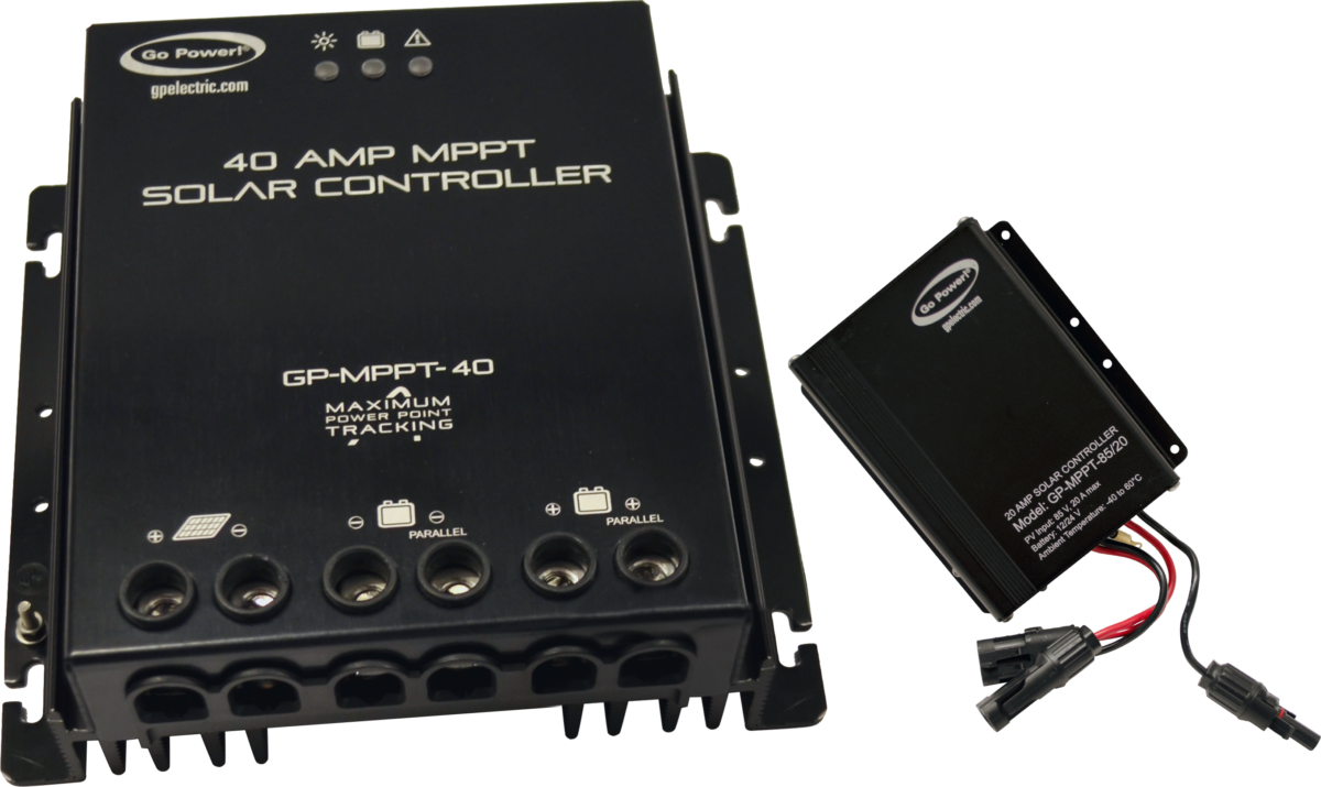 40 amp and 20 amp MPPT Controllers
