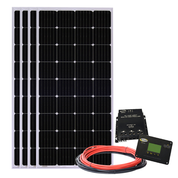 760-watt solar all-electric kit