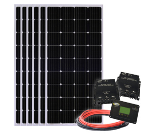 1140-watt Solar All-Electric Kit